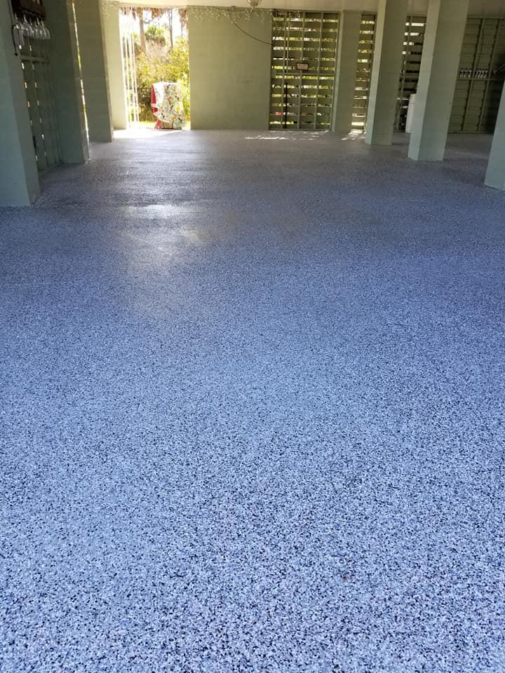 Epoxy Garage Floor Applications Artistic Concrete